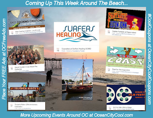 Upcoming Events This Week Around Ocean City...