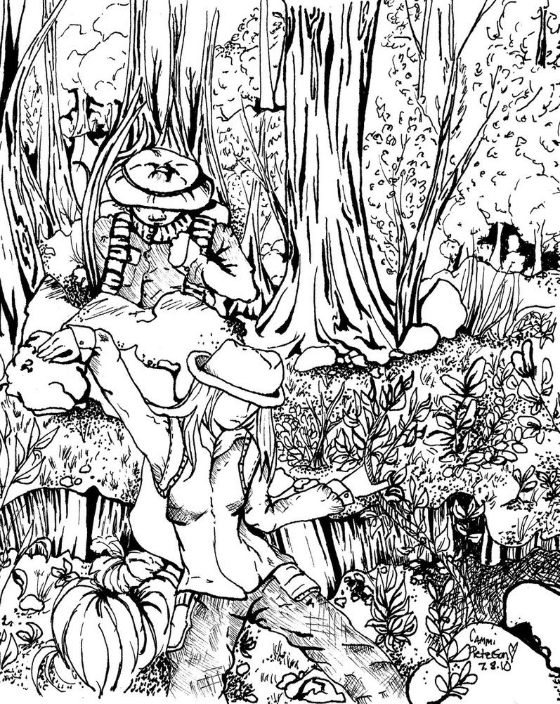 Rainforest Drawing Easy at GetDrawings   Free download