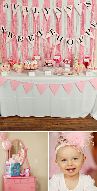 Pen + Paper Flowers: real parties | Sweet Shoppe 1st ...