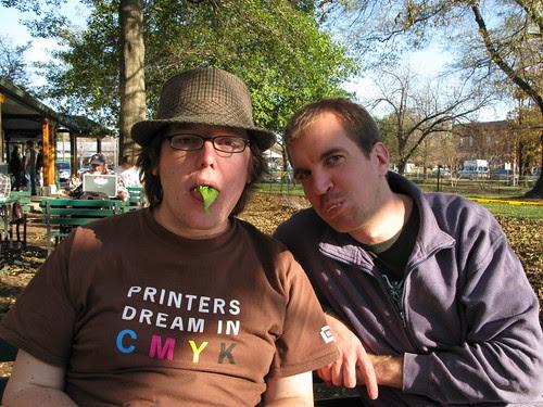 Brad & I @ the Weave
