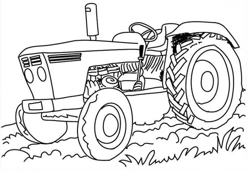 traktor ausmalbilder für kinder  ausmalbilder traktoren