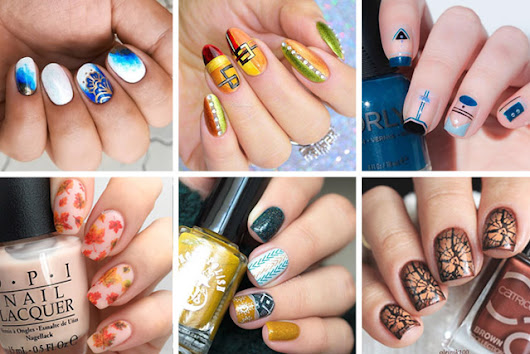 16 Fabulous Fall Nail Art Ideas to Sweep Away The Autumn Blues