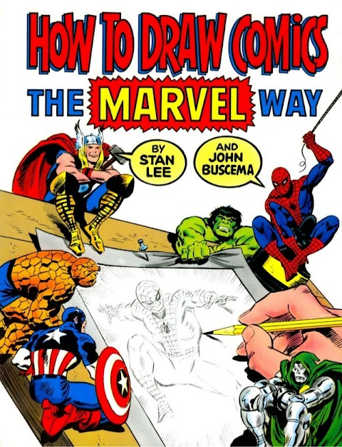 How To Draw Comic Book Characters The Marvel Way