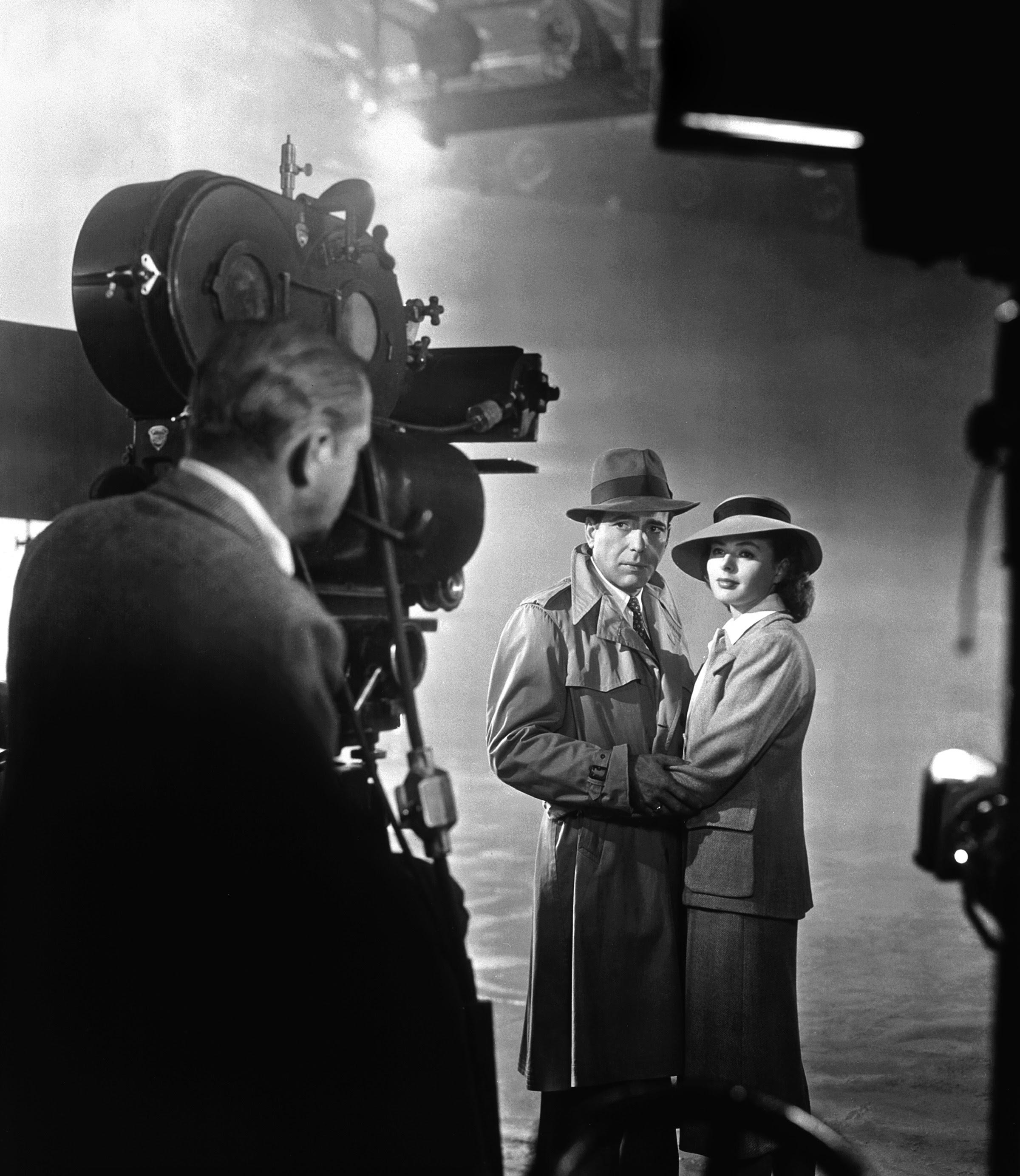 photo tournage coulisse cinema Casablanca 37 Photos sur des tournages de films #2  photo featured cinema 2 bonus