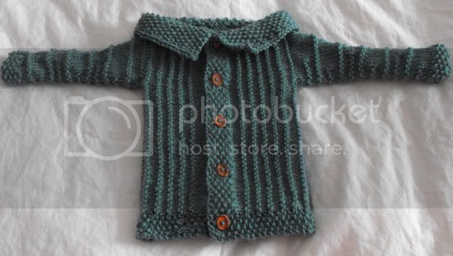 little ribbed baby jacket