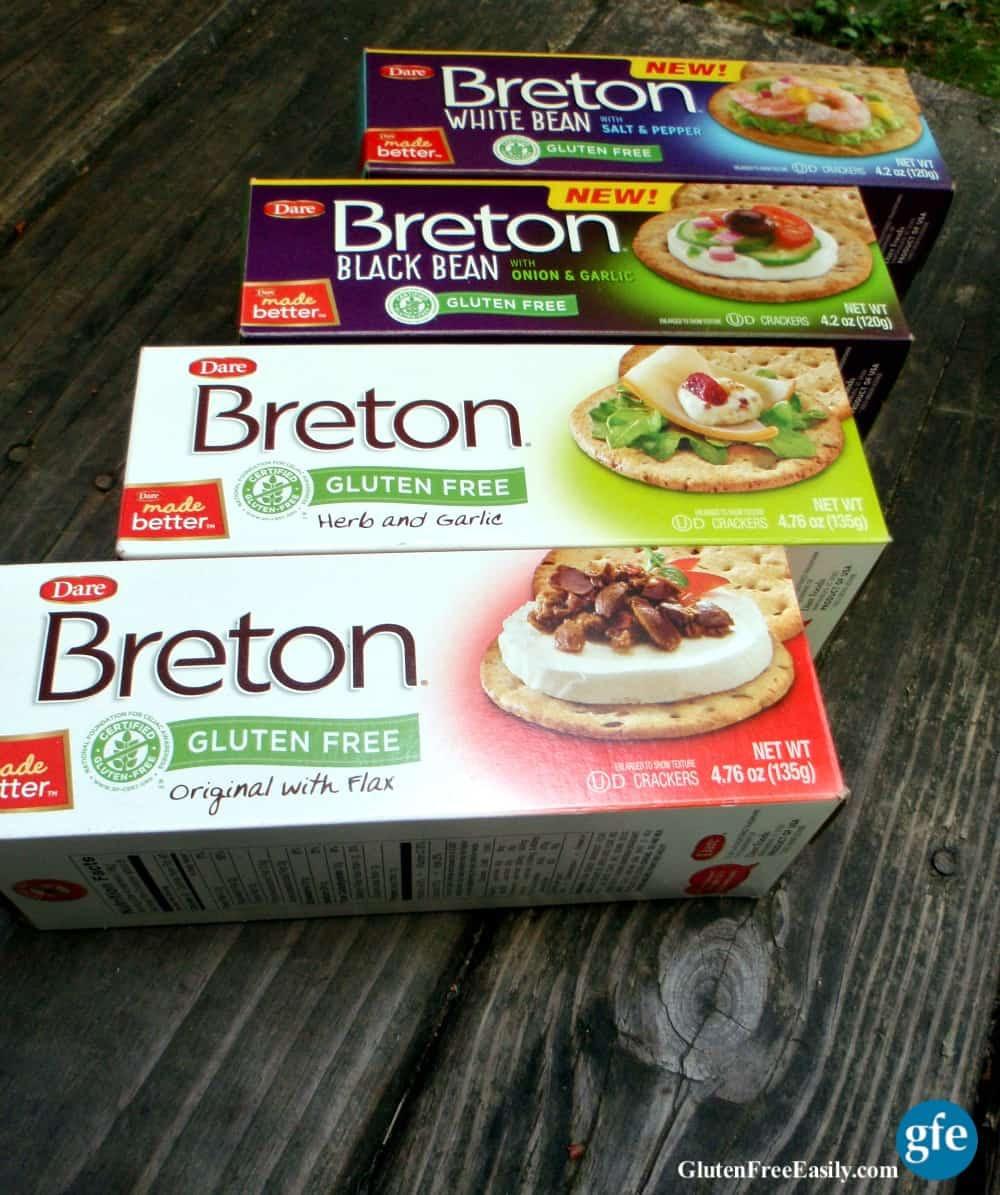 Pimento Cheese on GF Breton Crackers