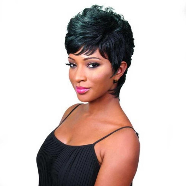 2019 Short  Haircuts  for Black  Women  57 Pixie Short  Black