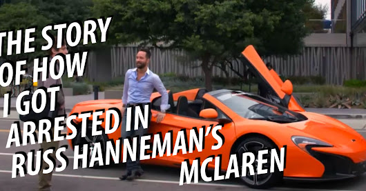How I Got Arrested in Russ Hanneman's McLaren (And Why You Need to Know Your Rights)