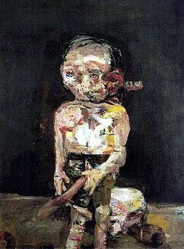 Die grosse Nacht im Eimer, by Baselitz