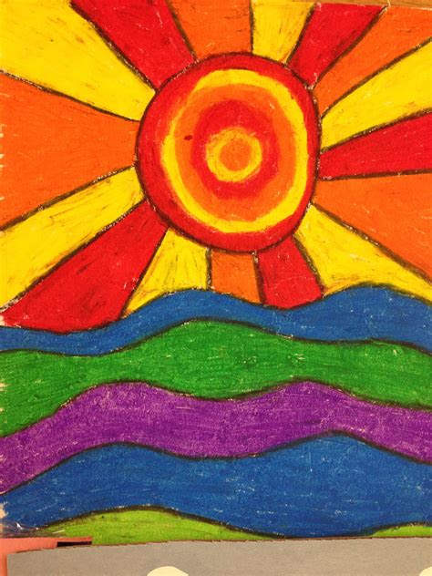 warm  cool colors st grade art lessons art color
