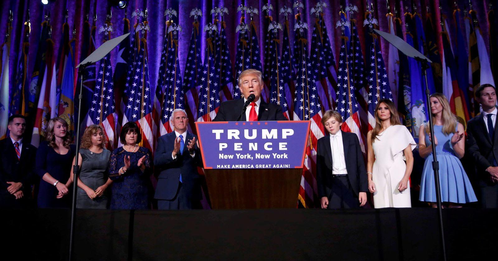 Image result for triunfo de Donald J Trump presidente 2016