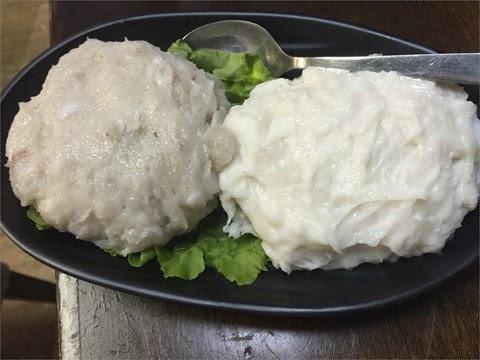 雙併滑(蝦,墨魚) - 大角咀的前家樂餐廳火鍋店