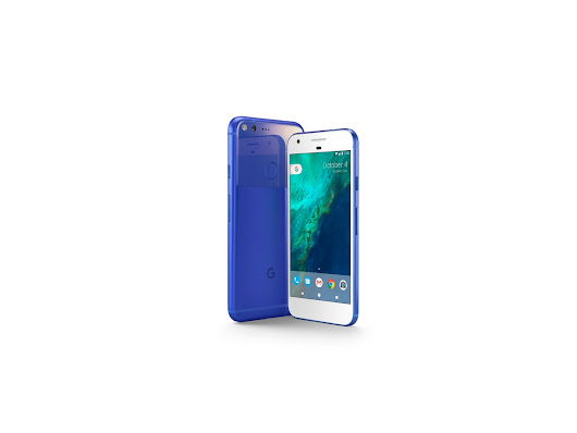 The Really Blue Google Pixel is really here