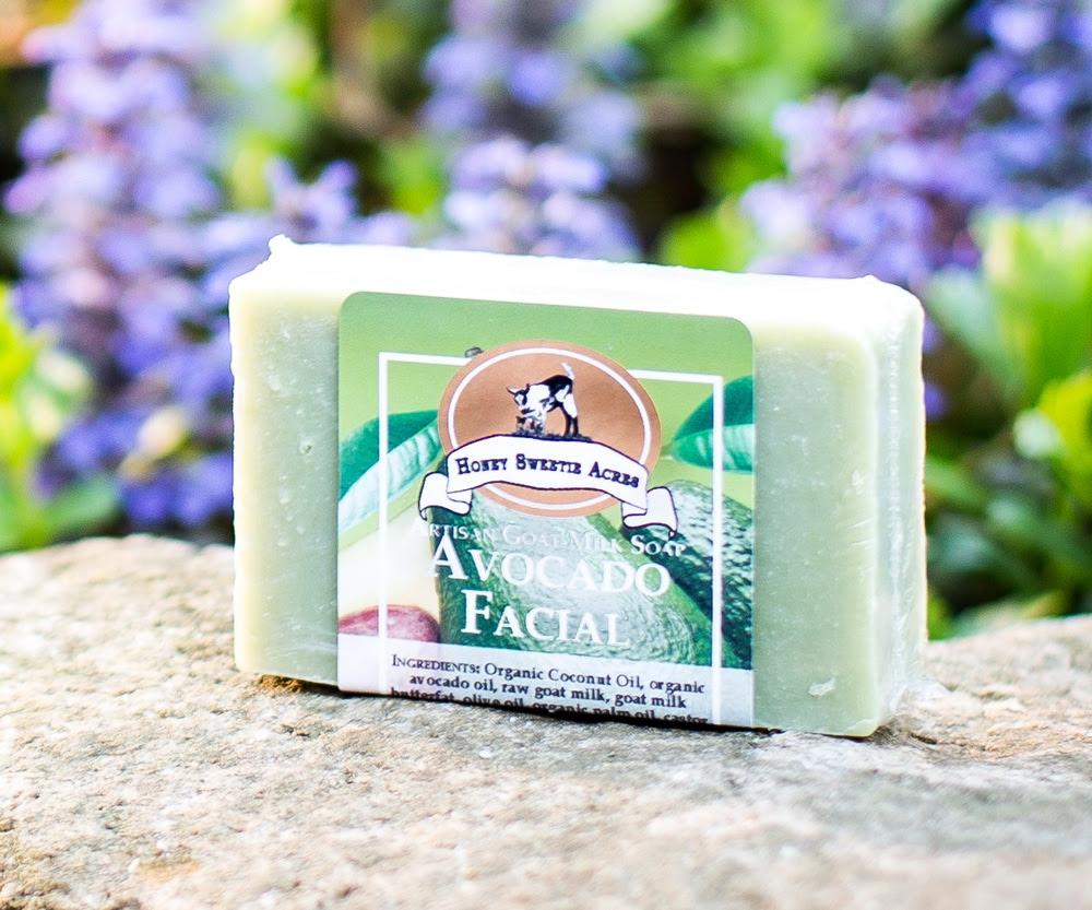 Avocado Facial Bar avocado goat milk soap facial bar