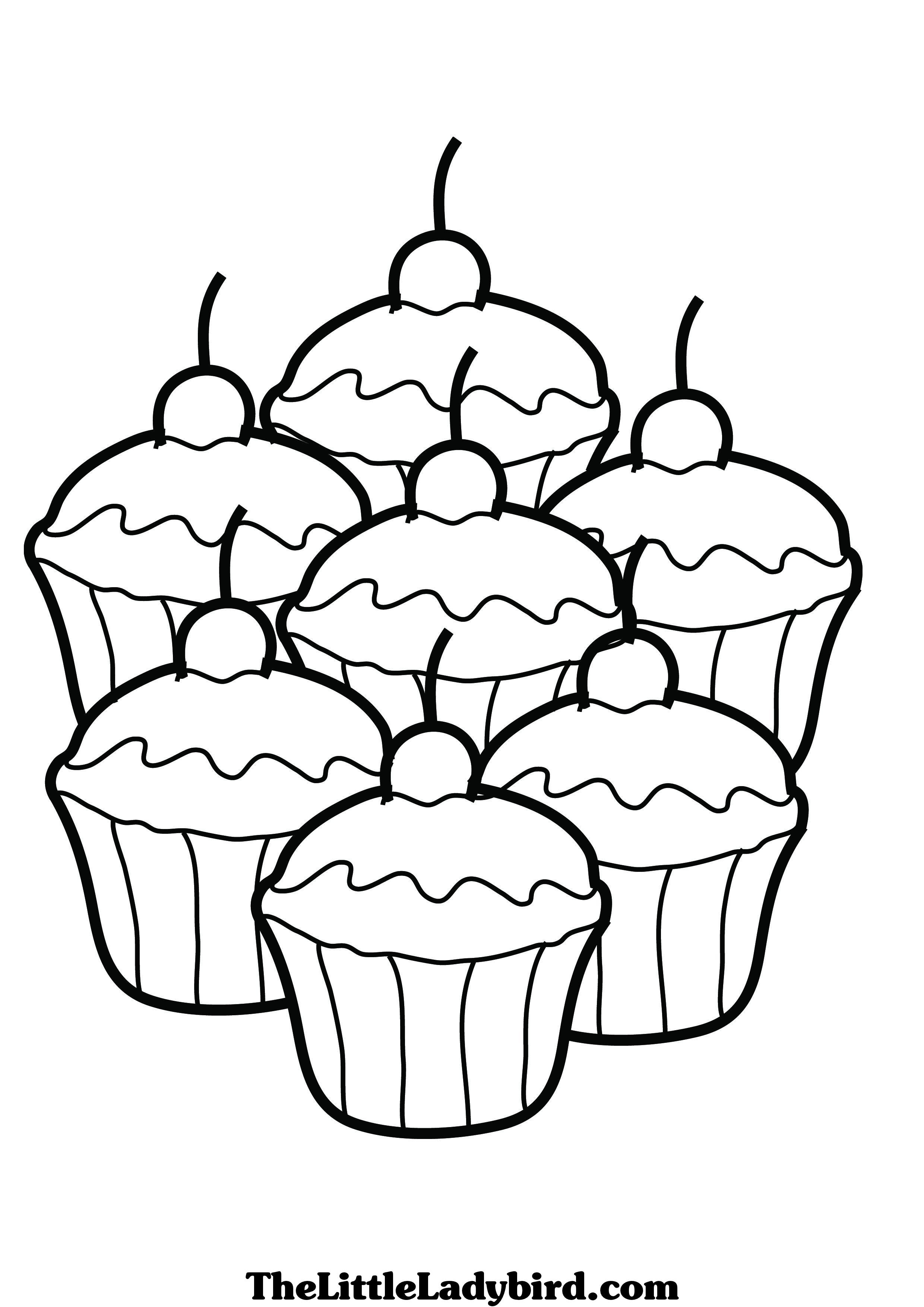5300 Top Coloring Pages Of Pretty Cupcakes For Free