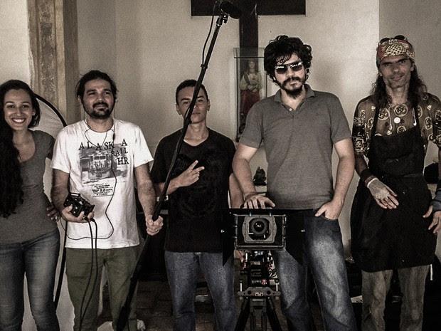 Maior parte da equipe envolvida no Cumbe é da Paraíba, incluindo o diretor, Joshua Luna Alves (Foto: Divulgação/Cumbe)