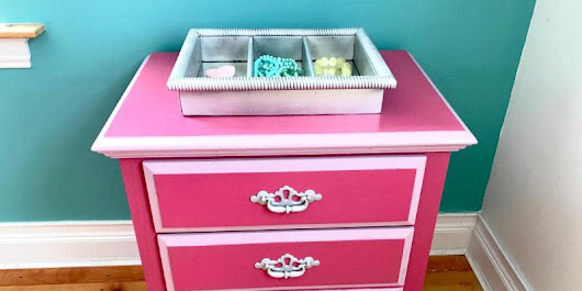 How to refurbish an old dresser