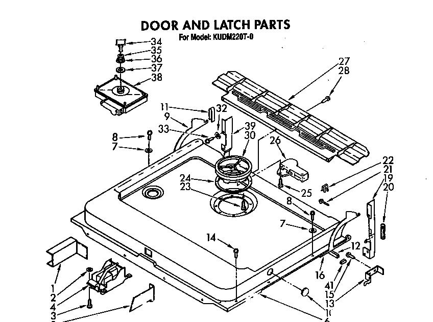 Hotpoint Dishwasher Parts Diagram