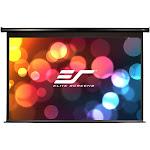 Elite Spectrum Series Electric110H Motorized Projection Screen (110V) - Black