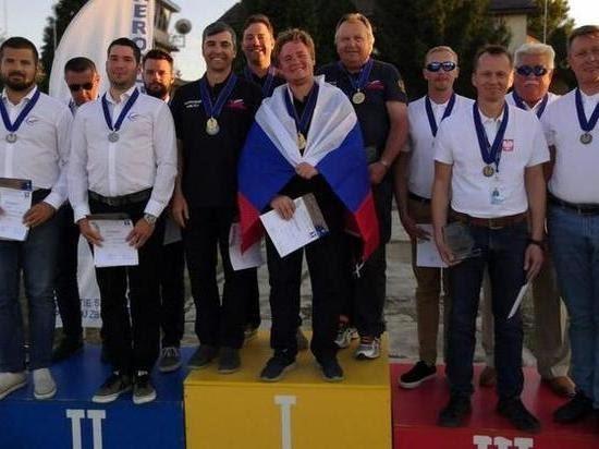 Сургутский пилот завоевал шесть медалей начемпионате Европы: Яндекс.Спорт