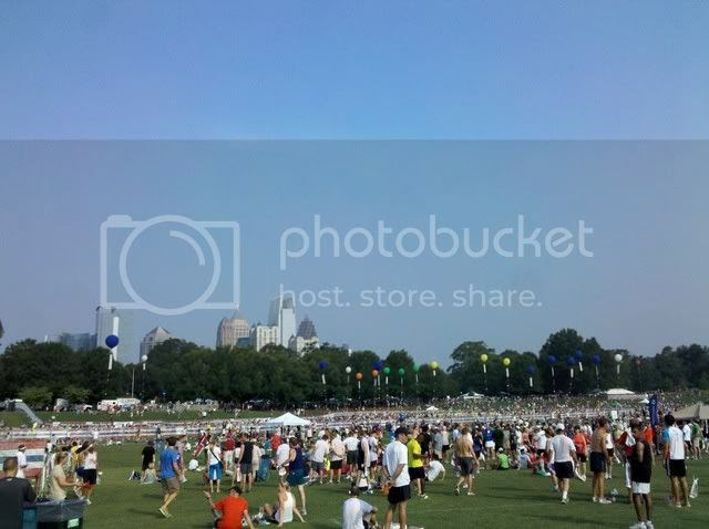 Piedmont Park After Peachtree Road Race