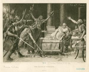 The death of Vitellius. Digital ID: 1624745. New York Public Library