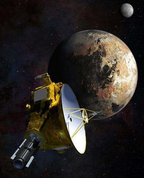 Pluto is now the most distant object ever visited by humanity