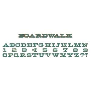 Tim Holtz Decorative Strip Boardwalk Alphabet