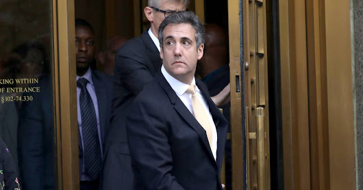 Cohen pleads guilty, says he paid hush money at Trump's direction