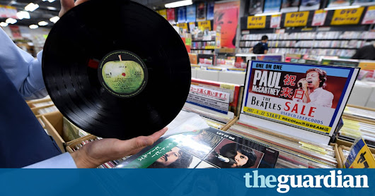Sony to start making records again 30 years after abandoning vinyl | World news | The Guardian
