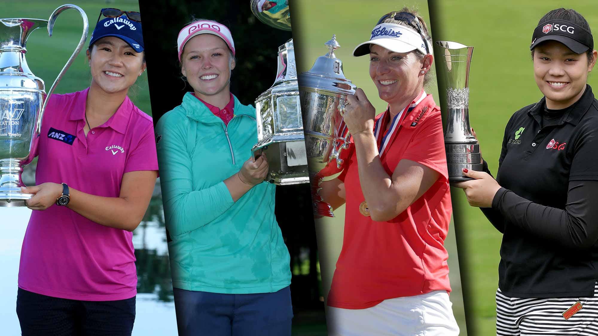 This year's major winners -- Ko, Henderson, Lang and Jutanugarn