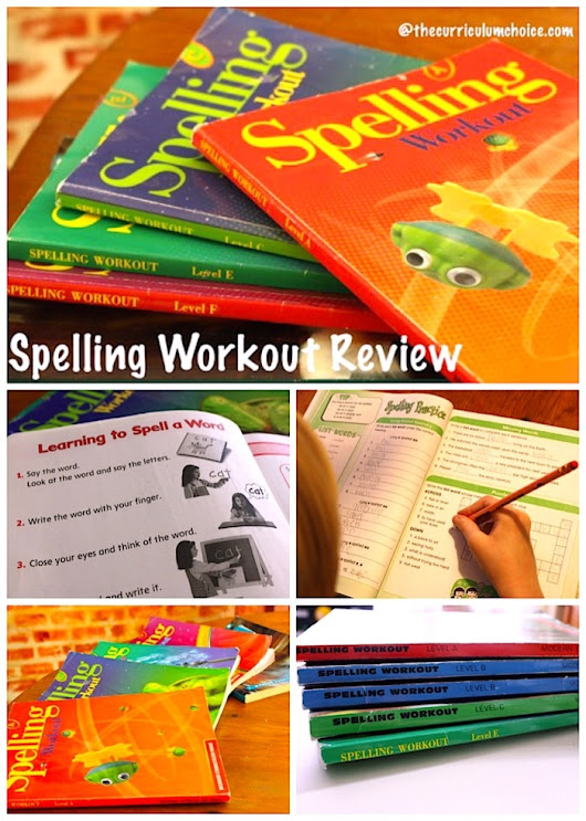 Spelling Workout Review - The Curriculum Choice