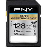 PNY - Elite Performance 128GB SDXC UHS-I Memory Card