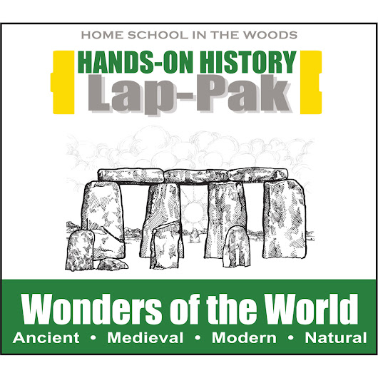 Lap-Pak: Wonders of the World – Home School in the Woods Publishing