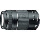 Canon Telephoto Zoom Lens for Canon EF - 75mm-300mm - F/4.0-5.6 - Black