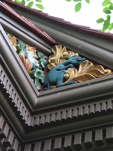 Chamberlain-Day house detail