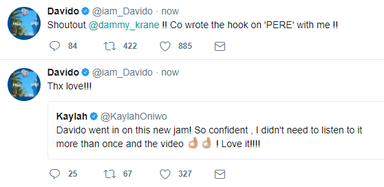 Davido Reveals Dammy Krane Co-wrote 'pere' Ft Young Thug And Rae Sremmund Hook