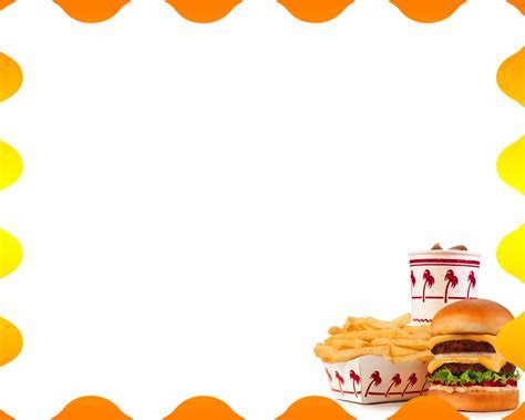 Free Hamburger Menu Backgrounds For PowerPoint   Foods and