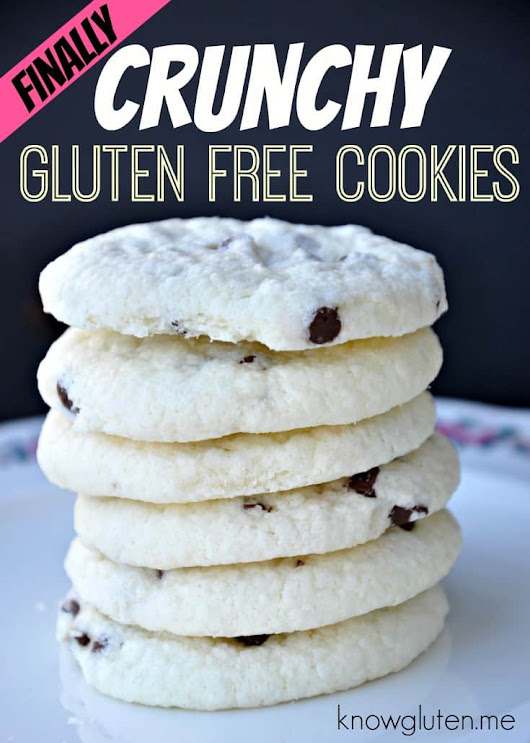 Crunchy Gluten Free Chocolate Chip Cookies