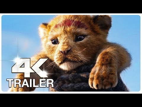THE LION KING Trailer (4K ULTRA HD) NEW 2019