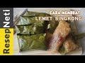 Kue Lemet Singkong Gula Merah, Jajanan Tradisional Yang Hampir Langka