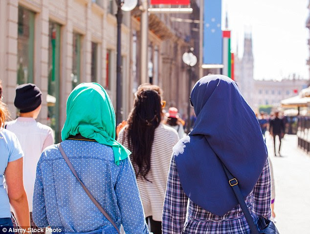 Business is booming for a German company marketing 'virginity' to Muslim women eager for their husbands-to-be to believe they have been chaste until their wedding day (file picture)
