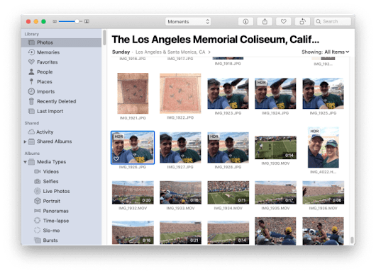 Two Shortcuts for Photos in Mojave - One-Minute Macman