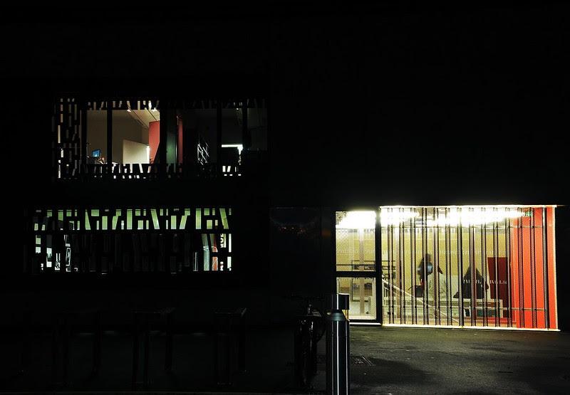 Evry Daily Photo - Mediatheque Albert-Camus