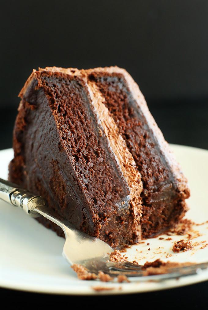 Simple Vegan Chocolate Cake | Minimalist Baker Recipes