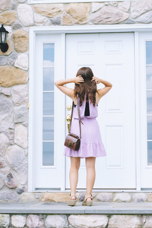Lilac Dress - Made in Mauve