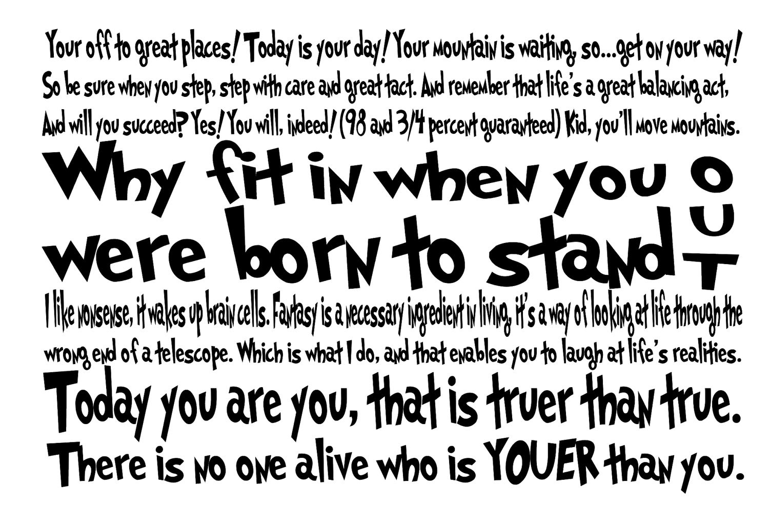 Dr Seuss Quotes And Sayings. QuotesGram
