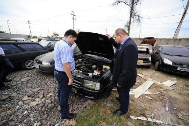 Detran exigirá que veículos sejam fotografados antes de ir para depósitos Ronaldo Bernardi/Agencia RBS