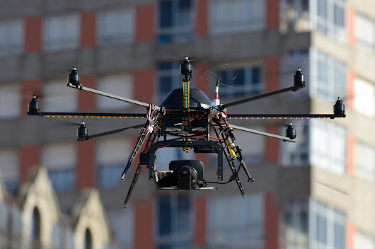 Could Drones be The Future of Roofing Construction?