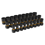 GearWrench 329-84784 0.25-0.50 in. Drive Bolt Biter Extension Socket Set - 28 Piece